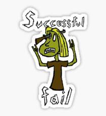 Successful Fail Sticker