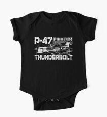 P-47 Thunderbolt Baby Body Kurzarm