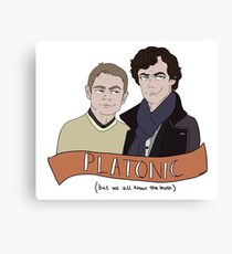 Platonic (but not really) Canvas Print