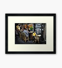 Where in the Universe is my Time Lord...  Framed Print
