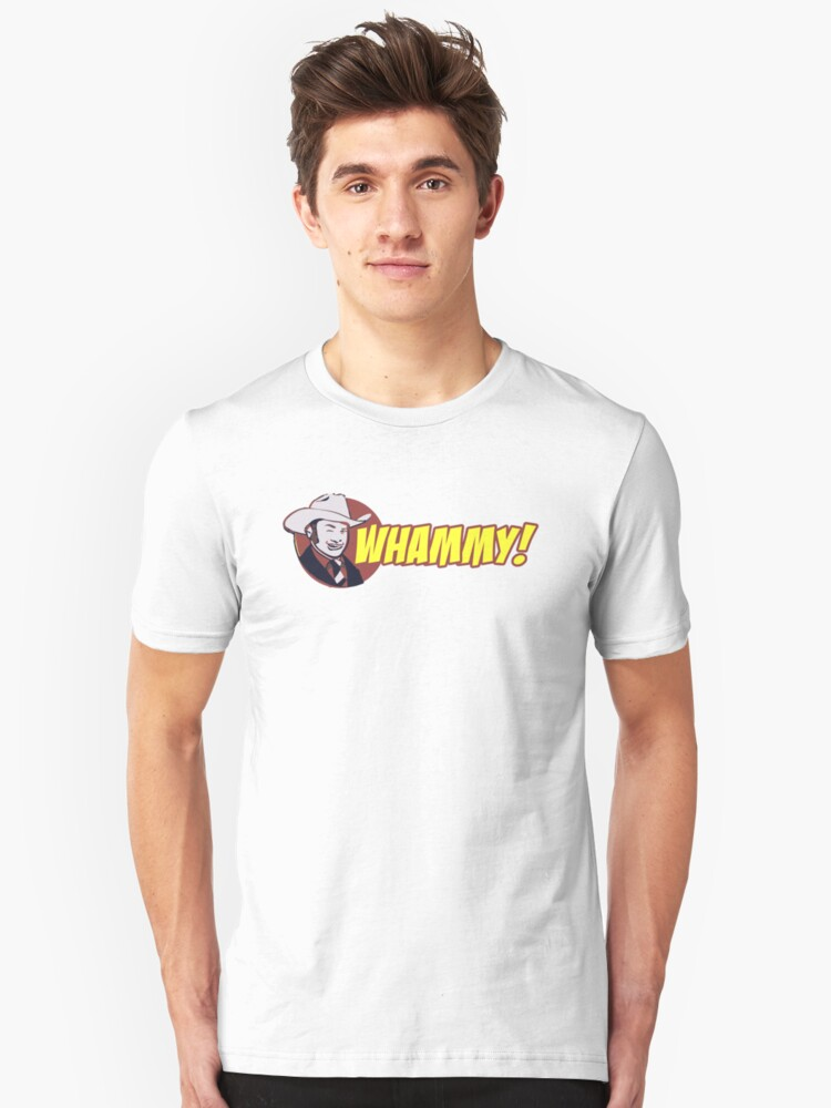 Champ Kind WHAMMY! Anchorman 2 Shirt Unisex T-Shirt Front