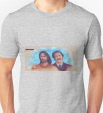 Ron Burgandy And Jesus Mobile Merchandise Unisex T-Shirt