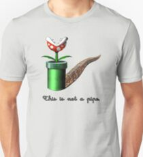 Super Mario for Magritte (English Version) Unisex T-Shirt