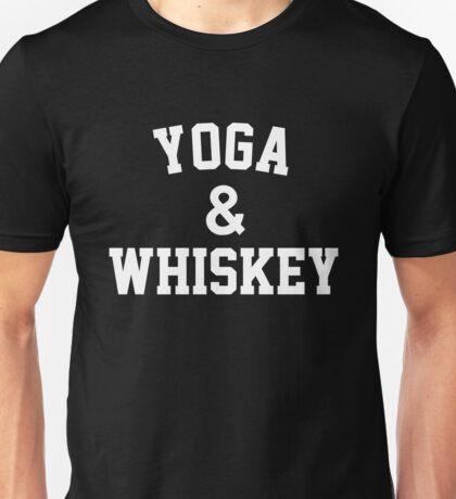 Yoga & Whiskey Unisex T-Shirt