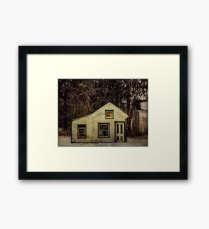 Bullville Post Office and Store Framed Print