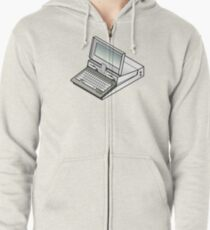 IBM PC Convertible 5140 Zipped Hoodie