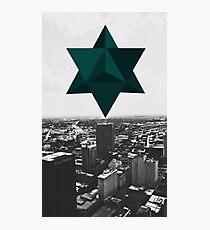 Star Tetrahedron Descent Photographic Print