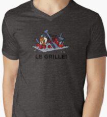 Le Grille! Men's V-Neck T-Shirt