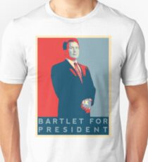 The West Wing's 'Bartlet for President' T-Shirt Unisex T-Shirt