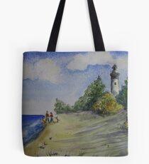 Beach at Grand Marais, Michigan Tote Bag