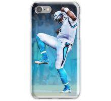 Cam Newton Touchdown celebration iPhone Case/Skin