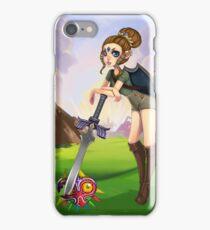 Kickass Zelda iPhone Case/Skin