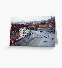 Warsaw Greeting Card