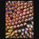 Pencils (Colour) by George Crawford