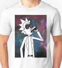 Rick Sanchez: Space Drunk  T-Shirt