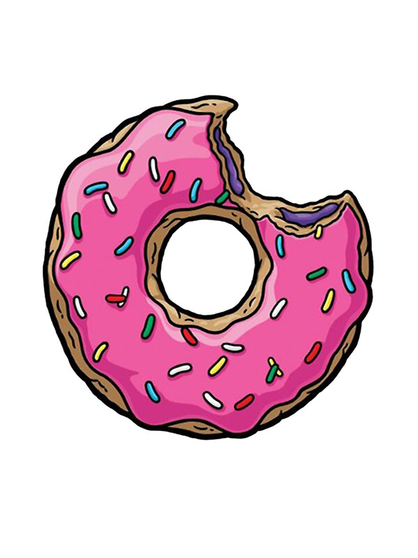 Quot Donut Quot Stickers By Jumix Redbubble
