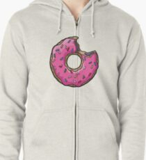 Donut Zipped Hoodie