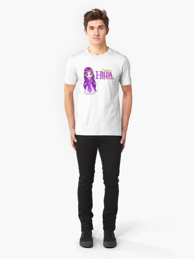 Alternate view of Team Hilda of Lorule Slim Fit T-Shirt