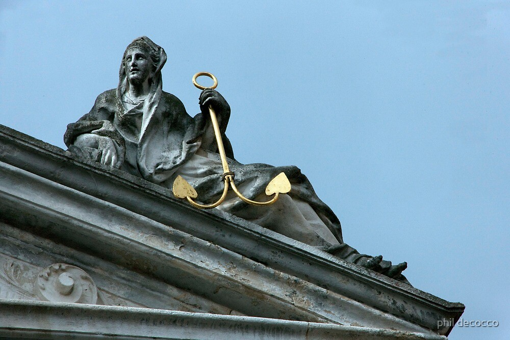 Anchor On The Roof by phil decocco