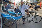 Rickshaw Drivers by Werner Padarin