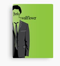 Minimalist The Perks of Being a Wallpaper Poster Canvas Print