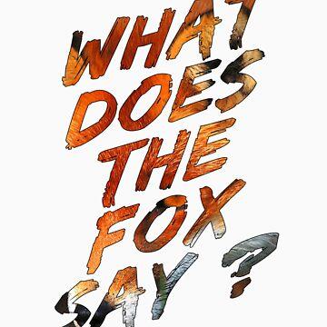 Qué dice el zorro ? de jpvalery