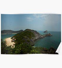 Monkey Island at Halong Bay Poster
