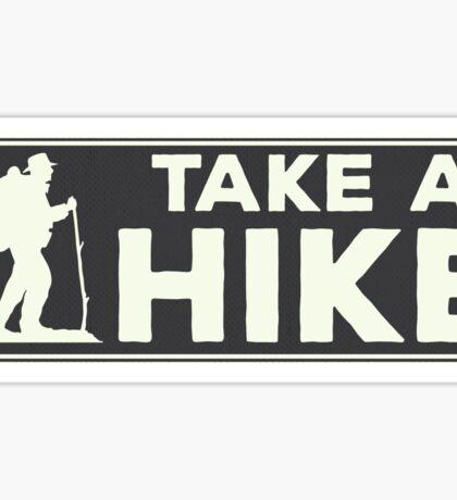 Take a Hike Sticker