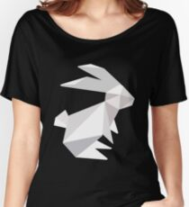 origami bunny  Women's Relaxed Fit T-Shirt