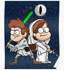 Wonder Twins Star Wars Poster