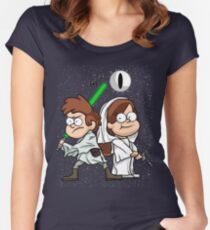 Wonder Twins Star Wars Women's Fitted Scoop T-Shirt
