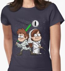 Wonder Twins Star Wars Women's Fitted T-Shirt