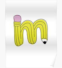 Pen Typography Poster