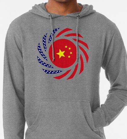 Chinese American Multinational Patriot Flag Series Lightweight Hoodie
