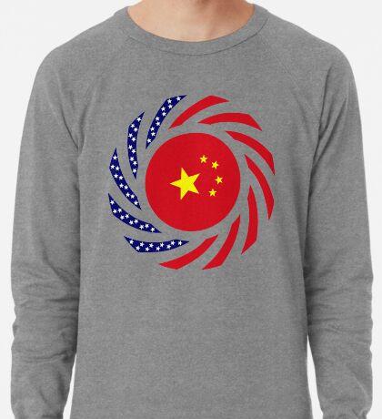 Chinese American Multinational Patriot Flag Series Lightweight Sweatshirt