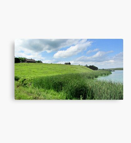 Little House on the Plains Metal Print