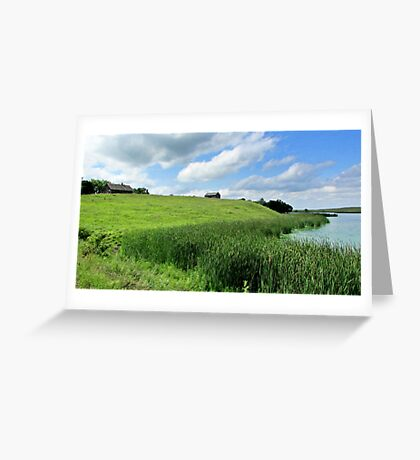 Little House on the Plains Greeting Card