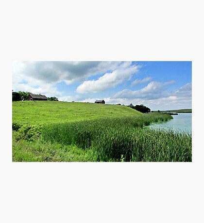 Little House on the Plains Photographic Print