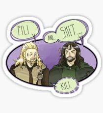 Fili and.... Sticker