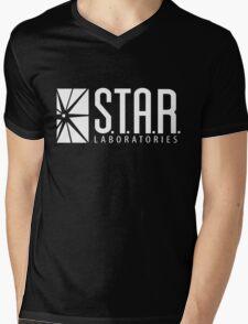 Black Star Labs Shirt Mens V-Neck T-Shirt