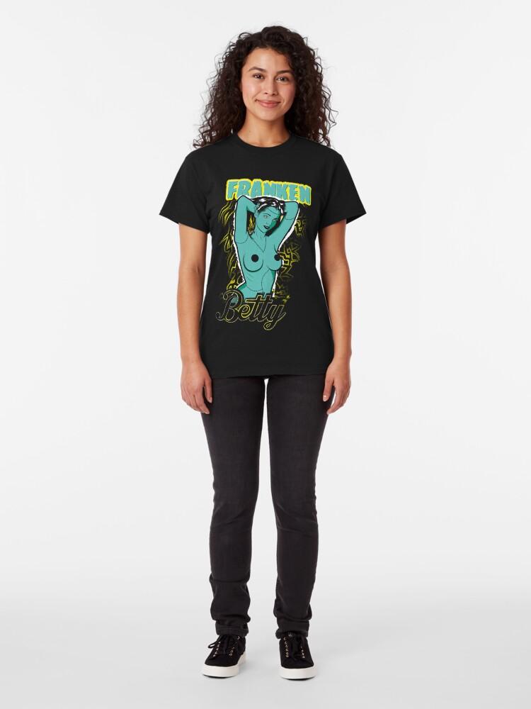 Alternate view of Franken Betty Classic T-Shirt