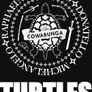 TMNT Ramones Logo by Randy Verschueren
