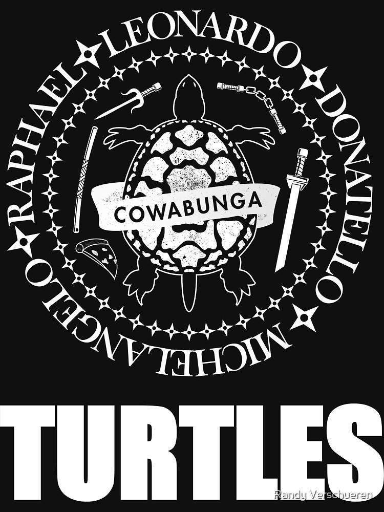 TMNT Ramones Logo by vieke
