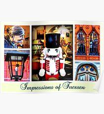 Impressions of Fuessen Poster