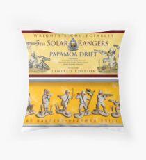 Solar Rangers, Papamoa 5th Drift Core Throw Pillow
