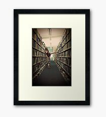 What Libraries are for Framed Print