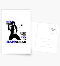 Keep the Han in Hannukah Postcards