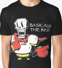 Papyrus from Undertale Graphic T-Shirt