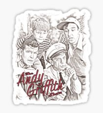 Andy Griffith Sketch Sticker