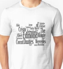 Characters of The Count of Monte Cristo T-Shirt